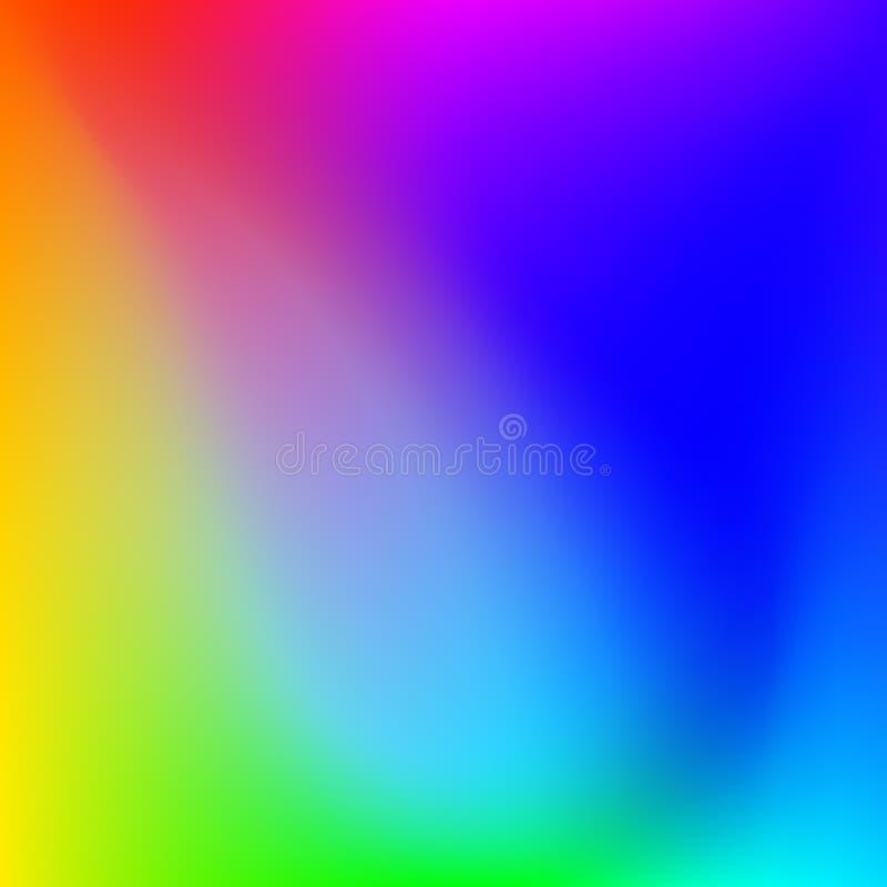 Fondo molle di colori dell'estratto luminoso di pendenza royalty illustrazione gratis