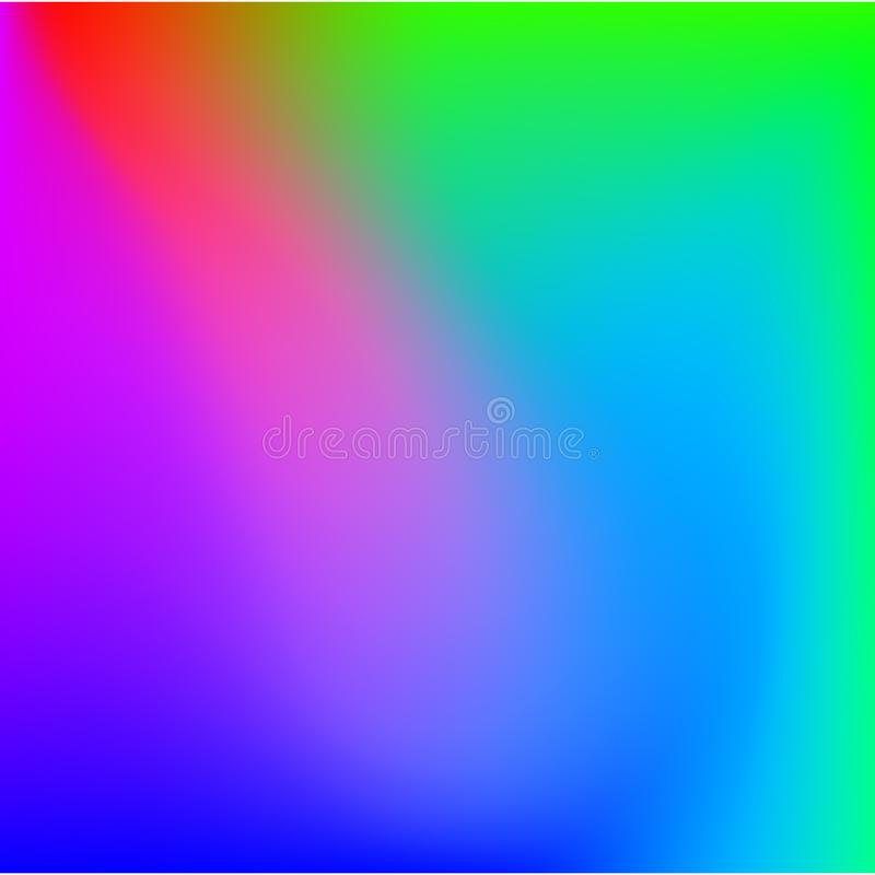 Fondo molle di colori dell'estratto luminoso di pendenza illustrazione di stock