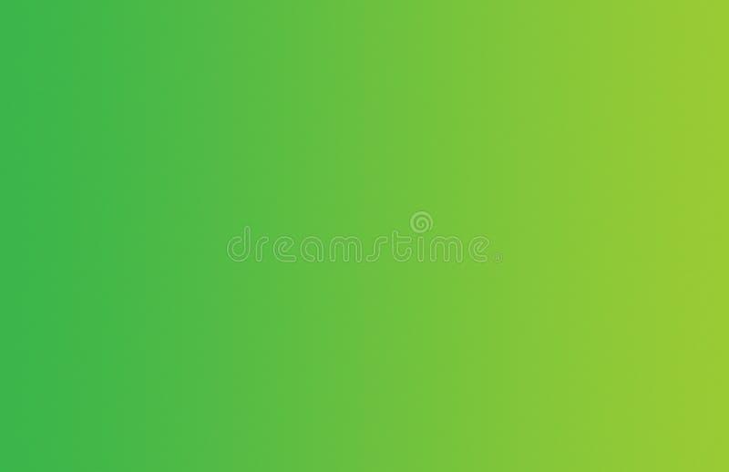 Fondo molle giallo verde vibrante di pendenza fotografia stock libera da diritti
