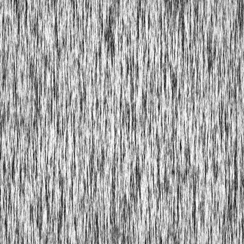 Fondo monocromatico a strisce di lerciume verticale in bianco e nero illustrazione vettoriale