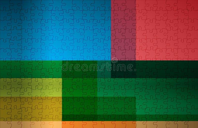 Fondo multicolor abstracto stock de ilustración