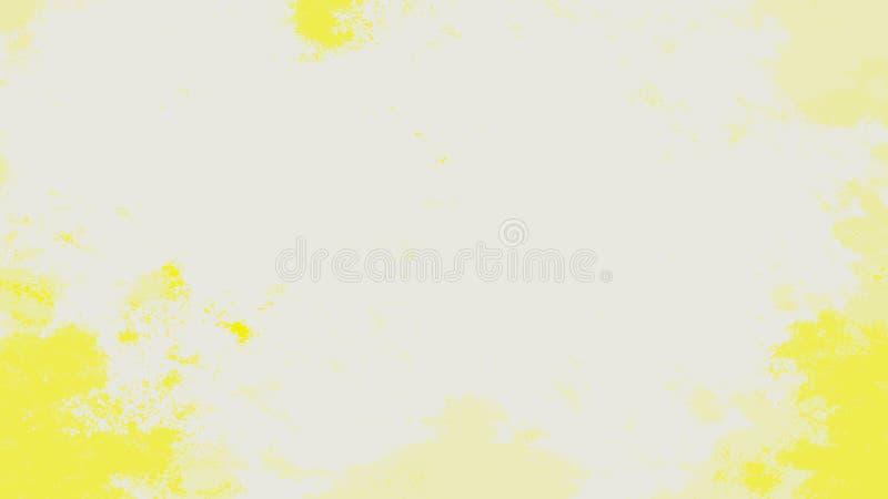 Fondo multicolor abstracto de la acuarela Textura de la pintura del arte El extracto forma el fondo stock de ilustración