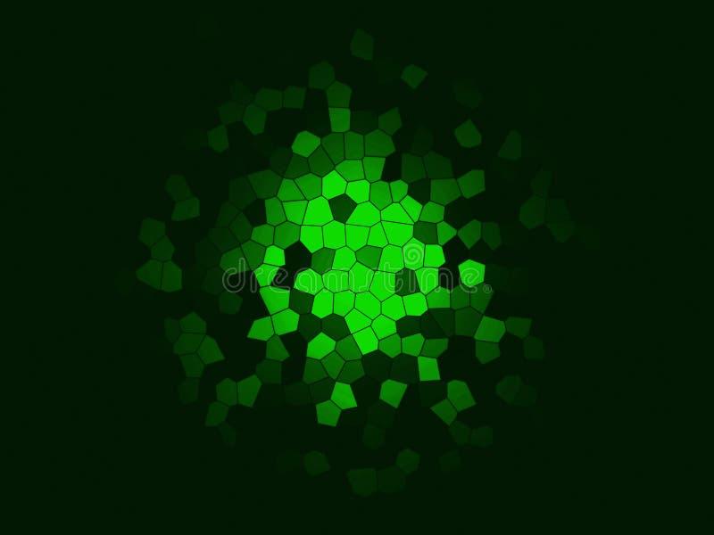 Fondo multicolor abstracto de la textura Chapoteo místico Explosión del espacio Creativo texturizado ilustración del vector