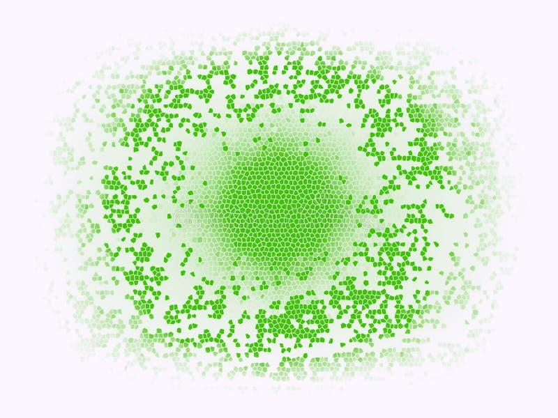 Fondo multicolor abstracto de la textura Fondo colorido del mosaico del arte Chapoteo místico Explosión del espacio ilustración del vector