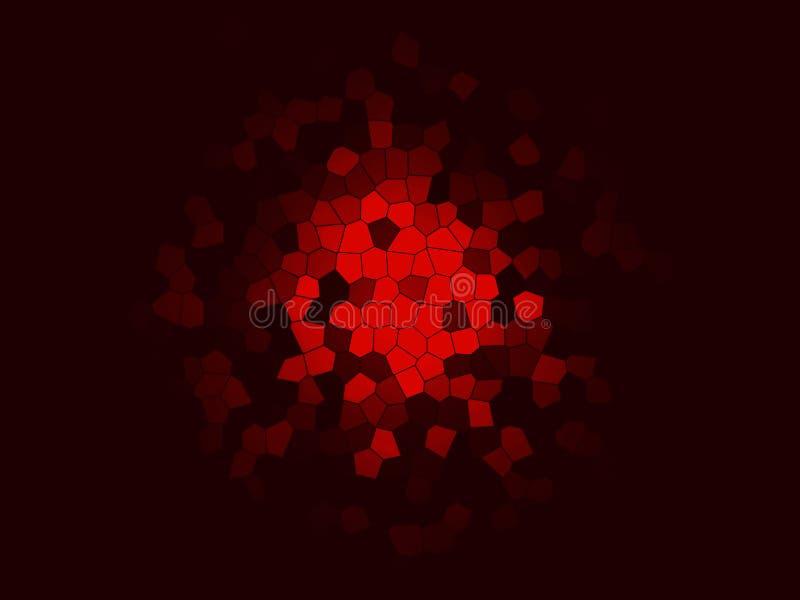Fondo multicolor abstracto de la textura Fondos coloridos del mosaico del arte Chapoteo místico Creativo texturizado ilustración del vector