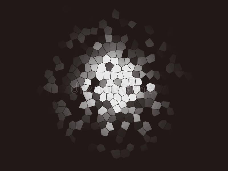 Fondo multicolor abstracto de la textura Fondos del arte Creativo texturizado ilustración del vector