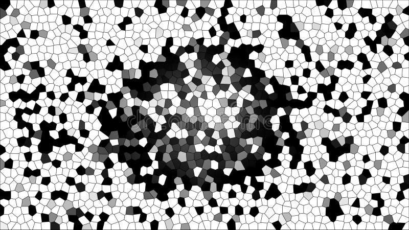 Fondo multicolor abstracto de la textura Fondos hermosos del mosaico Ejemplo místico stock de ilustración