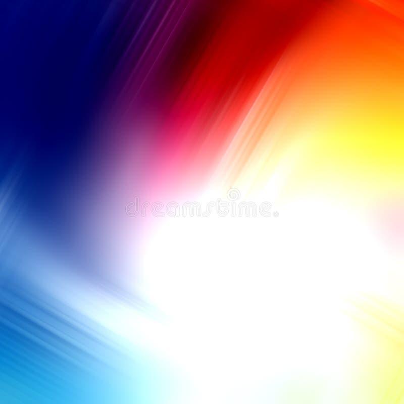 Fondo multicolor atractivo abstracto ilustración del vector