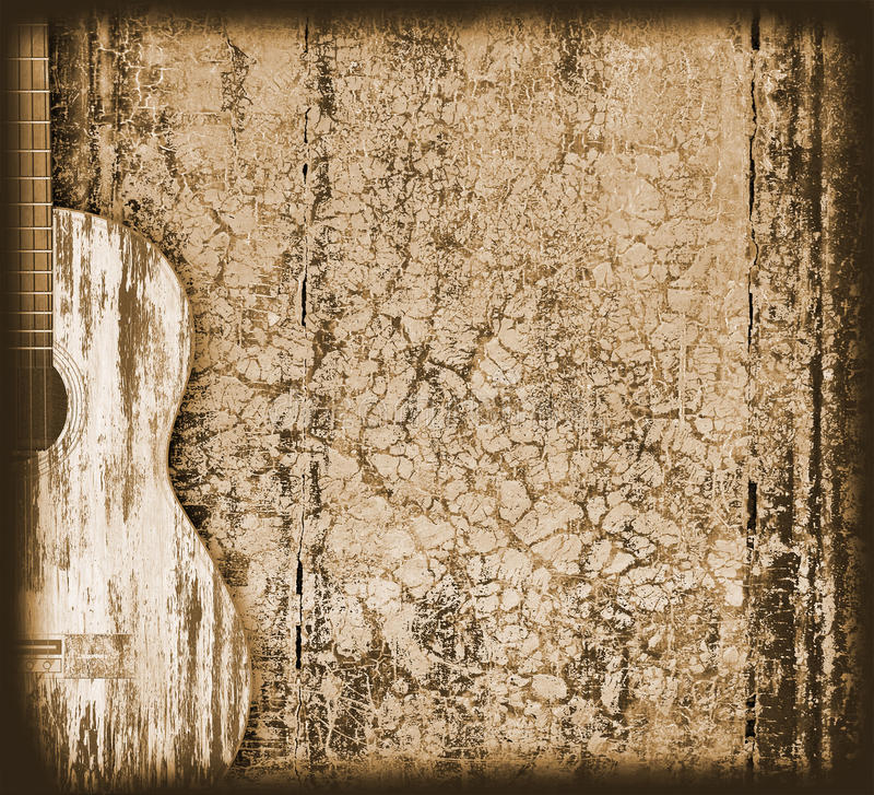 Fondo musical imágenes de archivo libres de regalías