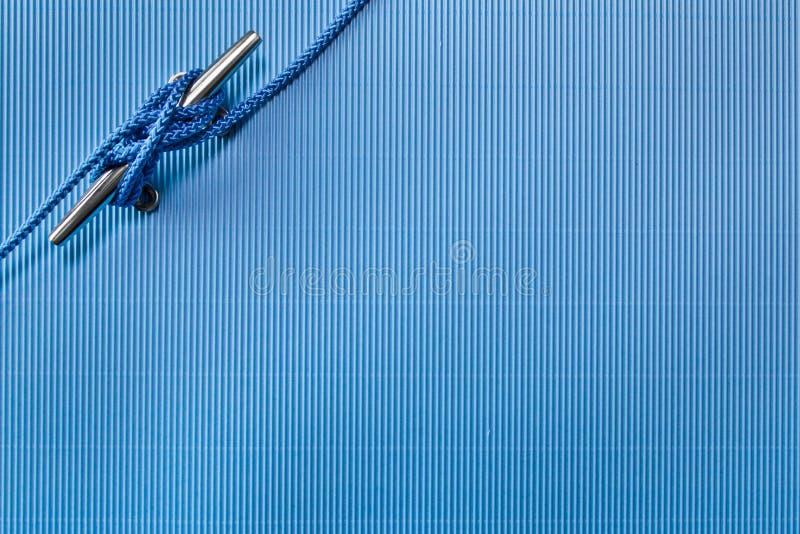 Fondo náutico de la cuerda imágenes de archivo libres de regalías