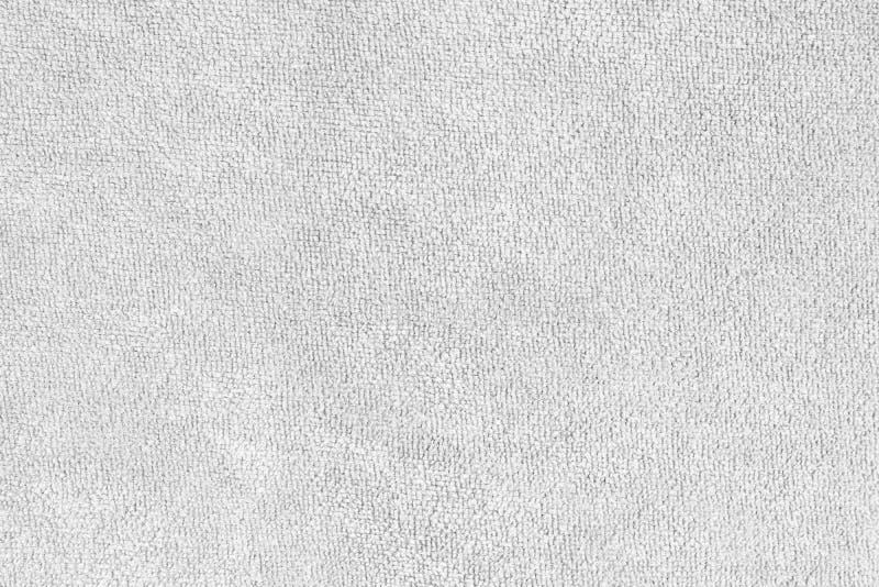 Fondo natural de la toalla del algodón Superficie de la materia textil de la tela imagenes de archivo