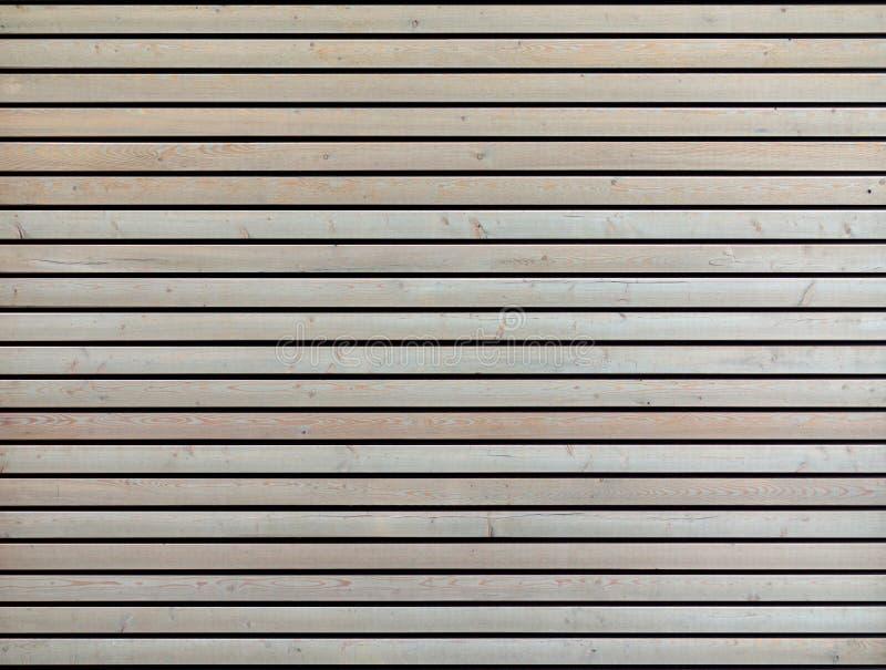 Fondo naturale imbiancato di legno delle plance del larice fotografie stock libere da diritti