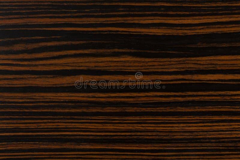 Fondo naturale scuro di legno dell'ebano Struttura di legno estremamente di alta risoluzione fotografie stock libere da diritti