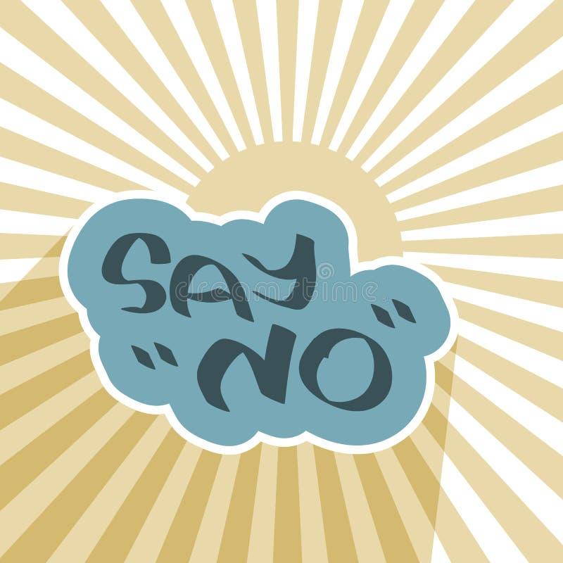 Fondo negativo del símbolo del mensaje libre illustration