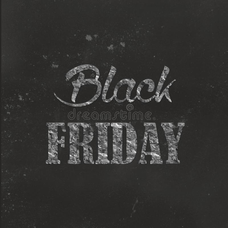 Fondo negro abstracto de la disposición de la venta de viernes Para el diseño de la plantilla del arte, lista, página, estilo del libre illustration