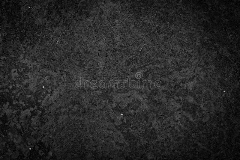 Fondo negro concreto de la textura foto de archivo libre de regalías