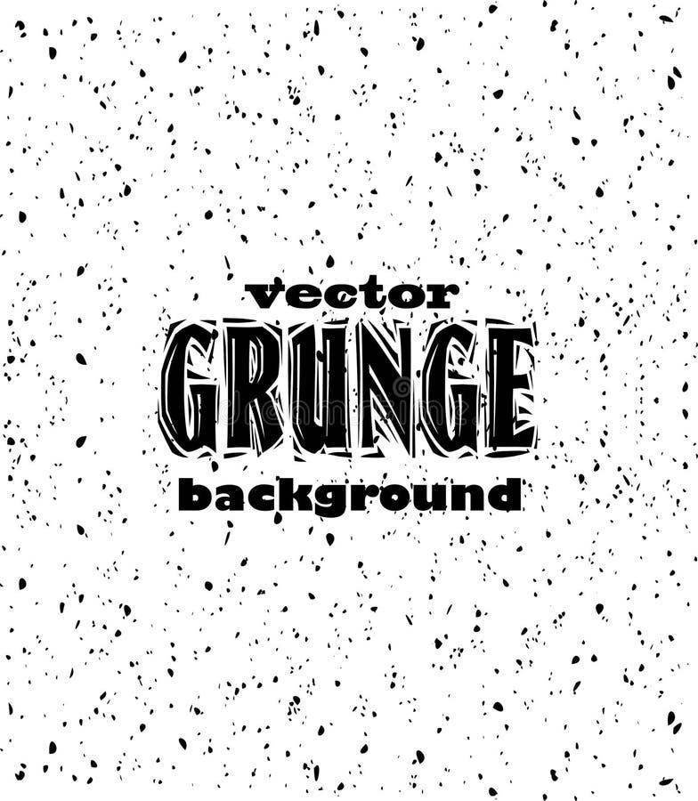 Fondo negro de Grunge stock de ilustración