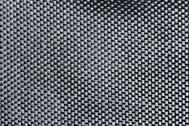 Fondo negro de la fibra imagen de archivo