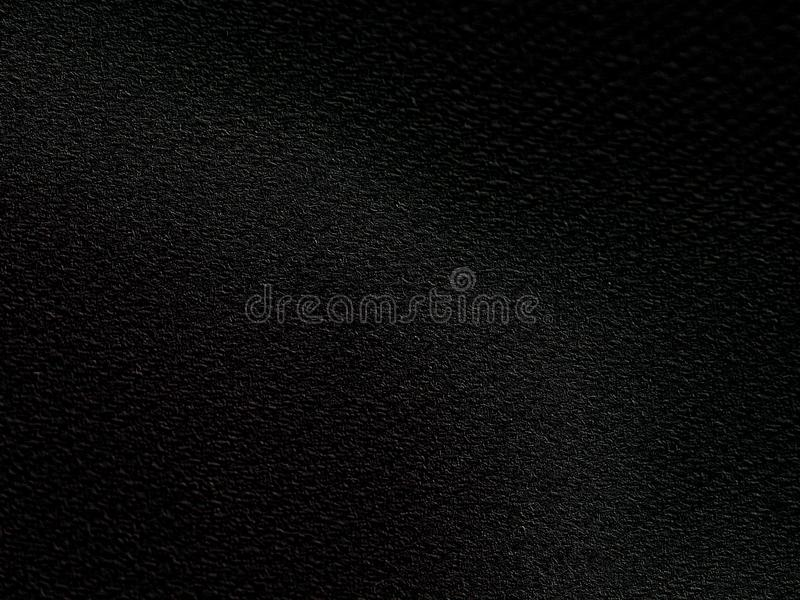 Fondo negro de la textura de la tela fotos de archivo libres de regalías