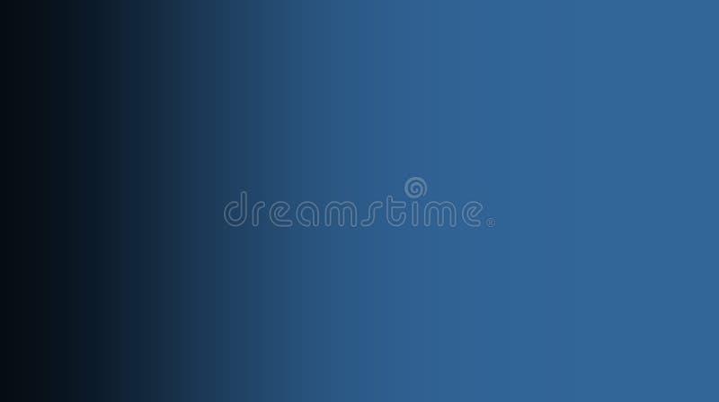 Fondo negro de mezcla de color del color azul del desierto del extracto ilustración del vector