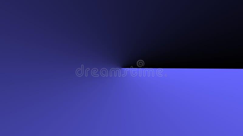 Fondo negro de mezcla de color del color de color morado oscuro abstracto imagen de archivo libre de regalías