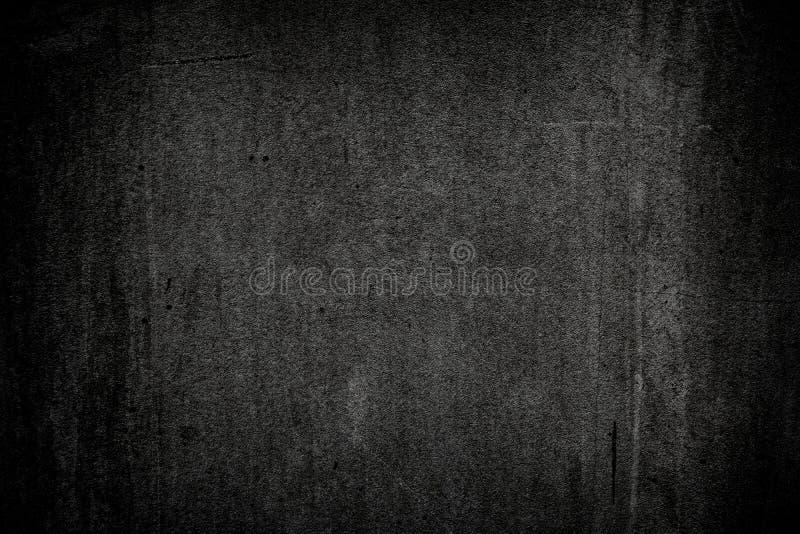 Fondo negro de textura de pared de hormigón bruto Superficie de hormigón pulido fotos de archivo
