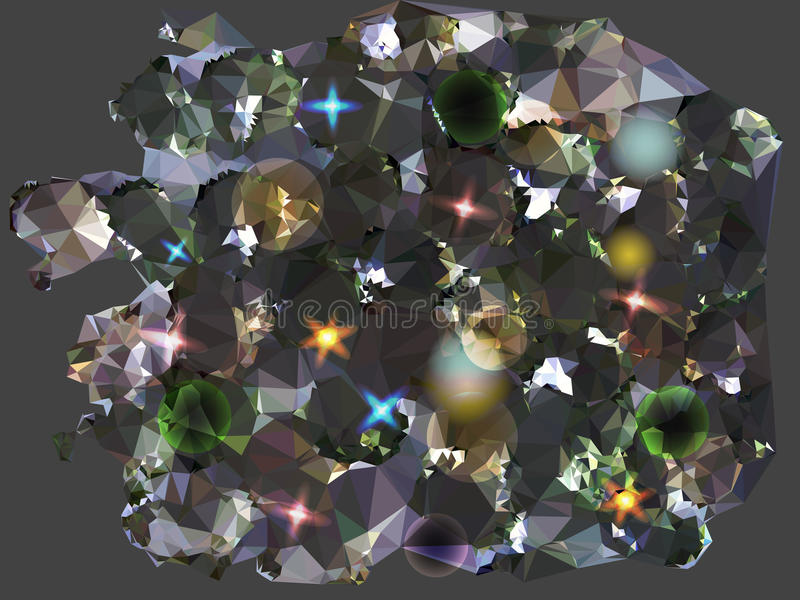 Download Fondo Negro Y Gris Abstracto Evocador De Diamantes Ilustración del Vector - Ilustración de negro, moderno: 42445880