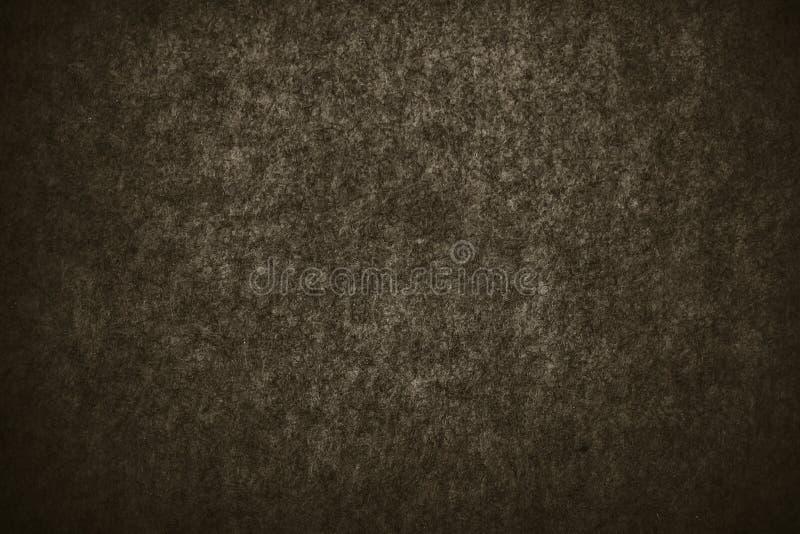 Fondo nero astratto con struttura invecchiata afflitta approssimativa, fondo grigio di colore del carbone di lerciume per stile d fotografia stock