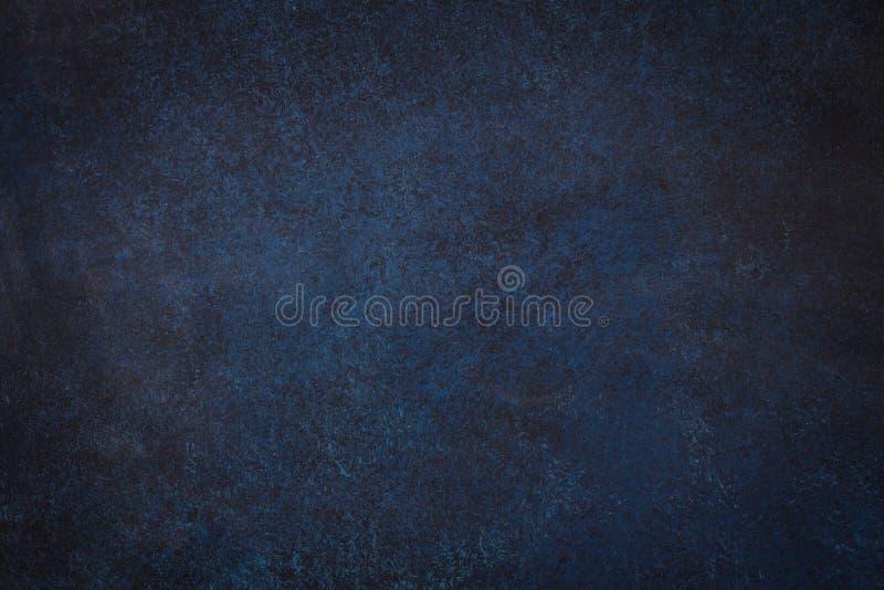 Fondo nero blu scuro dell'ardesia fotografie stock libere da diritti