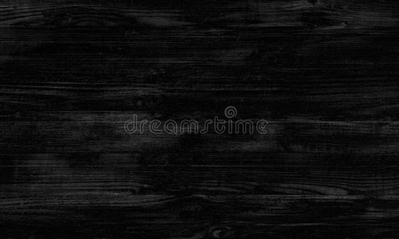 Fondo nero di legno, struttura astratta di legno scura fotografia stock