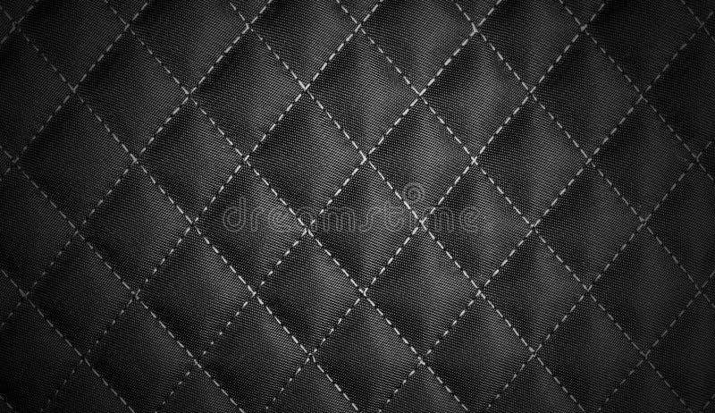 Fondo nero di struttura del tessuto della coda fotografia stock libera da diritti