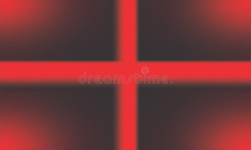Fondo nero e rosso astratto di struttura royalty illustrazione gratis