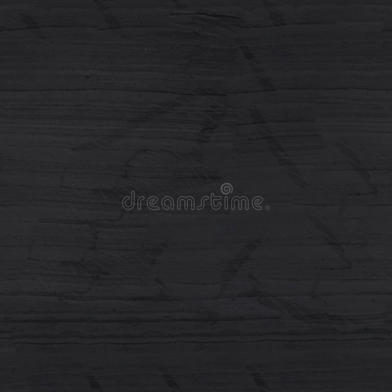 Fondo nero grigio scuro dell'ardesia Struttura quadrata senza cuciture, mattonelle fotografie stock libere da diritti
