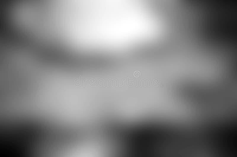 Fondo nero o blurre grigio di lusso di bianco dell'estratto del fondo illustrazione vettoriale