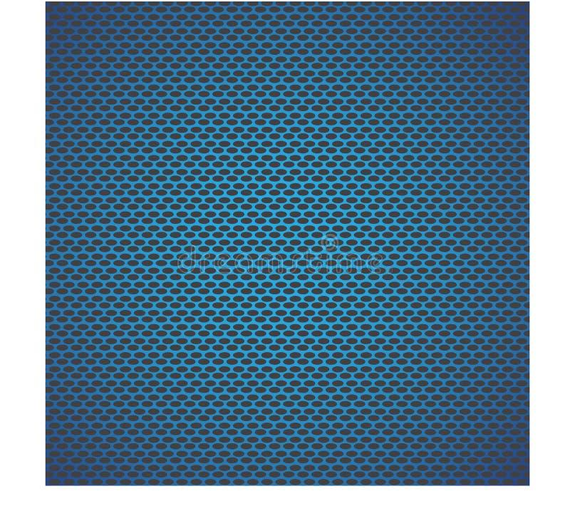 Fondo neto azul stock de ilustración