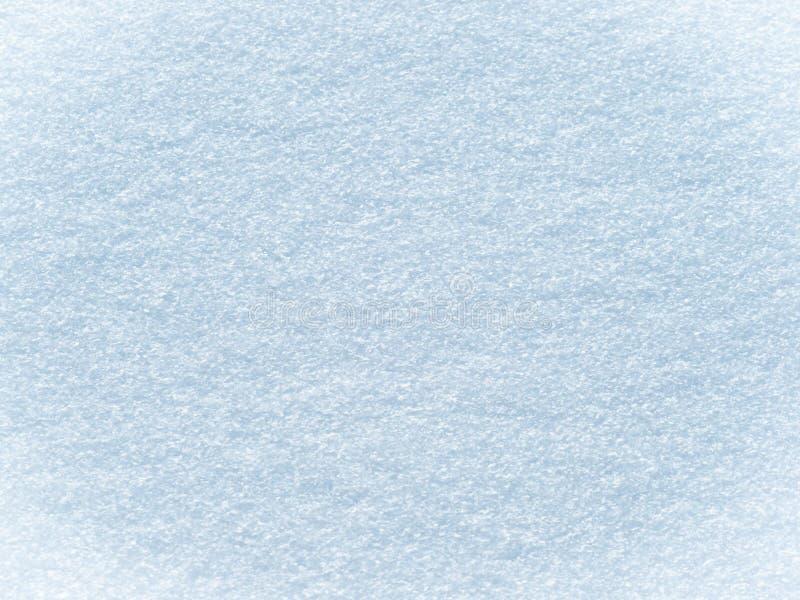 Fondo Nevado con acentos azules fotos de archivo libres de regalías