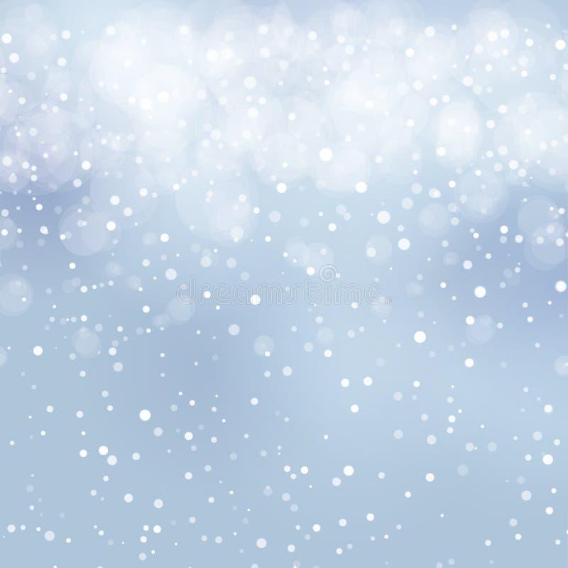 Fondo nevoso abstracto libre illustration