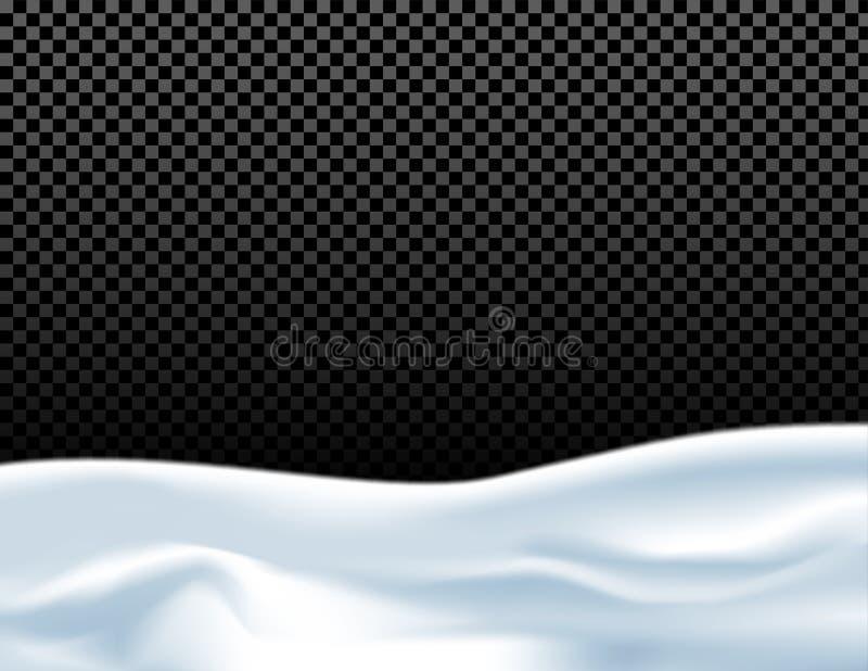 Fondo nevoso abstracto ilustración del vector