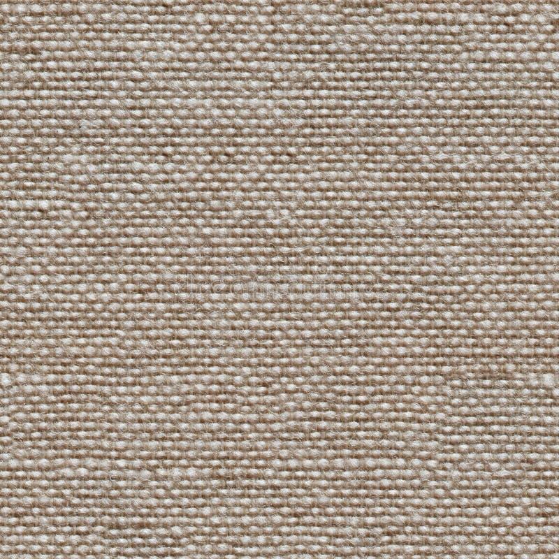 Fondo non colorato di tela naturale della tela Struttura quadrata senza cuciture, mattonelle pronte immagini stock libere da diritti