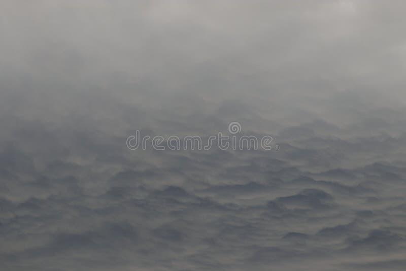 Fondo nuvoloso in cielo immagini stock