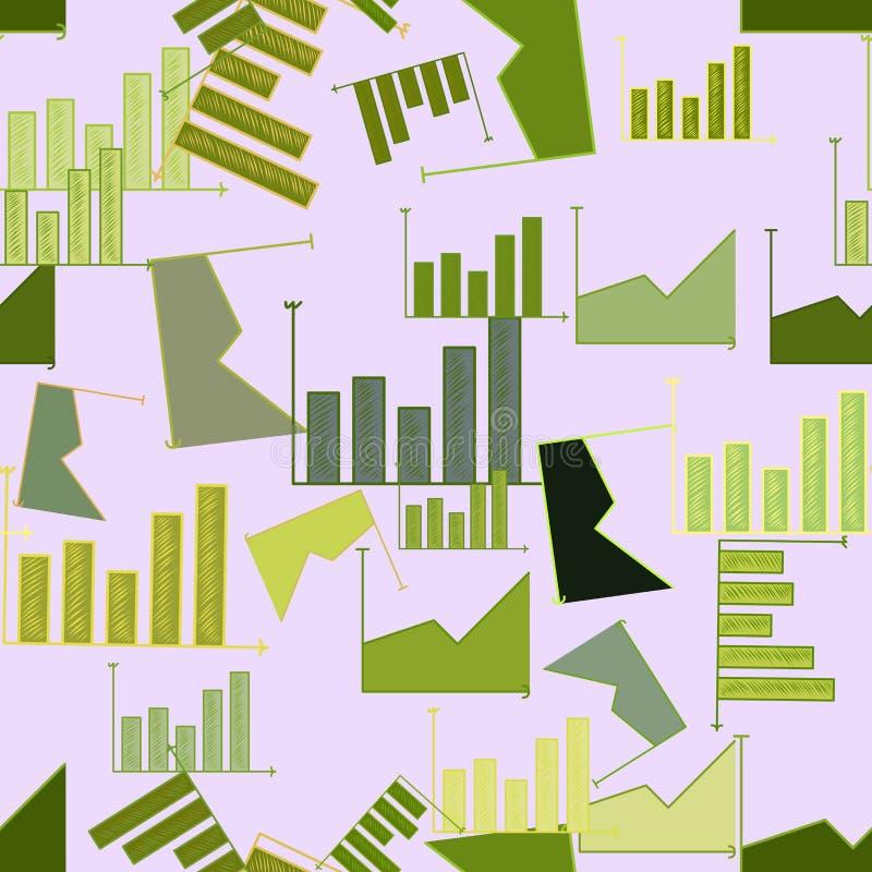 Fondo o contexto inconsútil, mano financiera del gráfico dibujada, para la textura del diseño Ilustraciones, efecto, dibujo y lon libre illustration