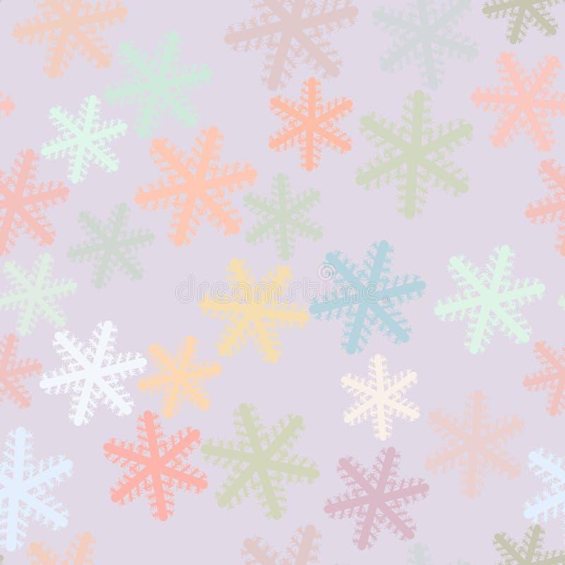 Fondo o contexto inconsútil, primer de la mano de la nieve dibujado, para la textura del diseño Concepto, web, papel pintado y ej ilustración del vector