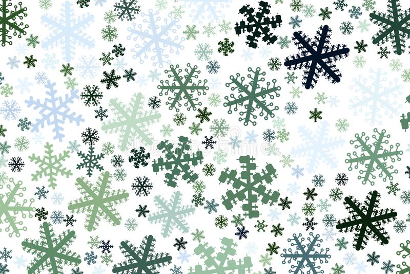 Fondo o contexto, primer de la mano de la nieve dibujado, para la textura del diseño Repetición, concepto, lona y estilo ilustración del vector