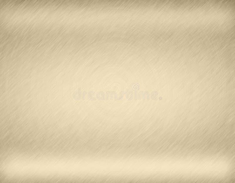Fondo o struttura astratto del metallo dell'oro royalty illustrazione gratis