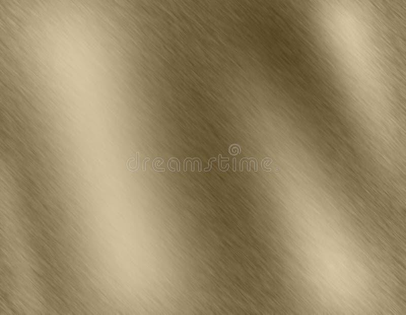 Fondo o struttura astratto dell'oro illustrazione vettoriale