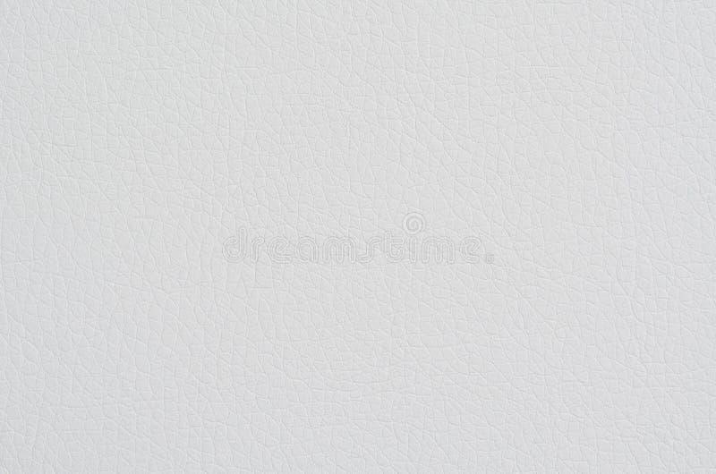 Fondo o struttura del cuoio bianco immagini stock libere da diritti