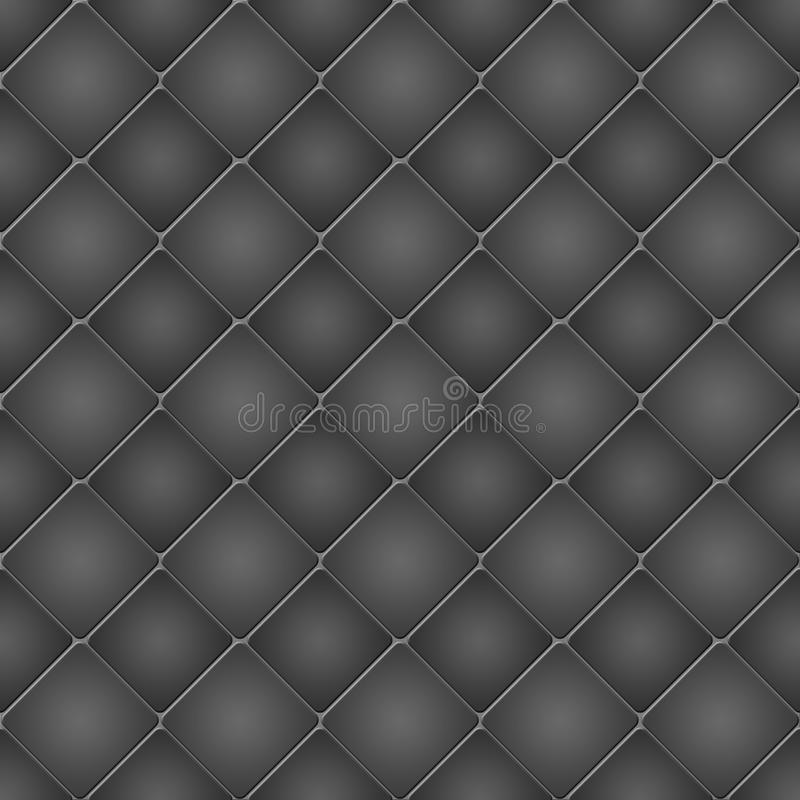 Fondo o textura abstracto con los Rhombus ilustración del vector
