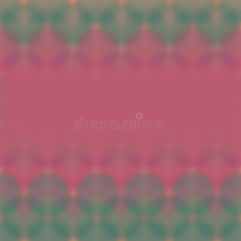 Fondo o textura abstracto del rosa y de colores verdes ilustración del vector