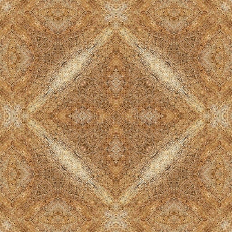 Fondo o textura abstracto inconsútil de madera stock de ilustración