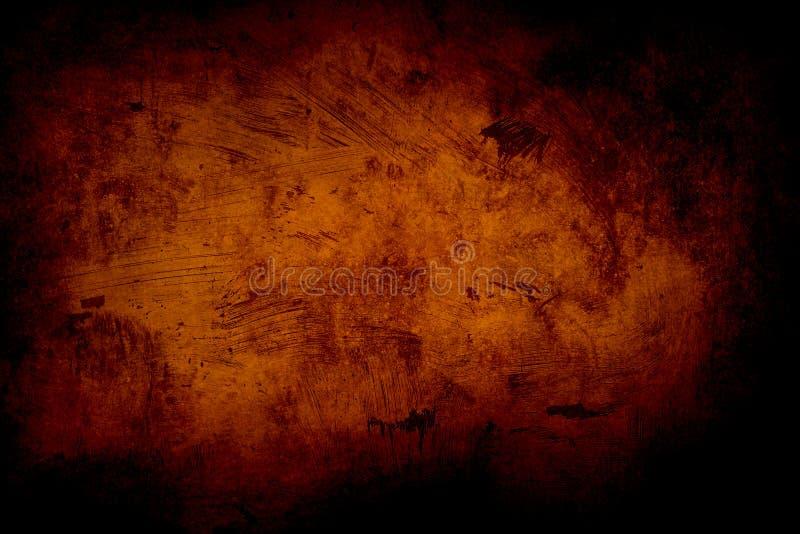 Fondo o textura anaranjado del grunge imagen de archivo